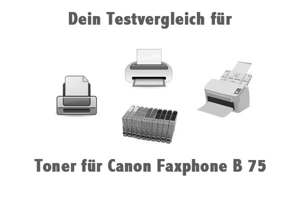 Toner für Canon Faxphone B 75