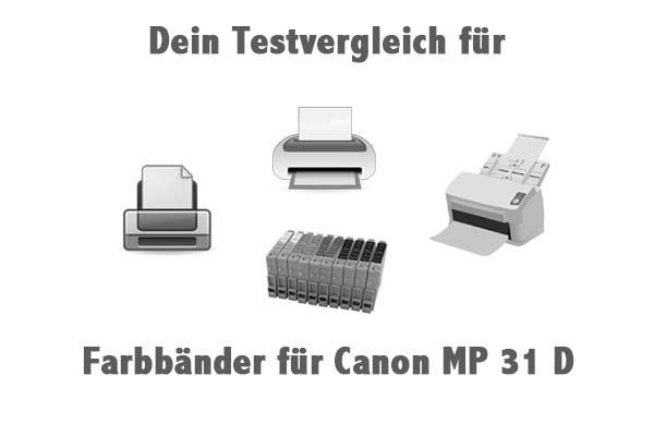 Farbbänder für Canon MP 31 D