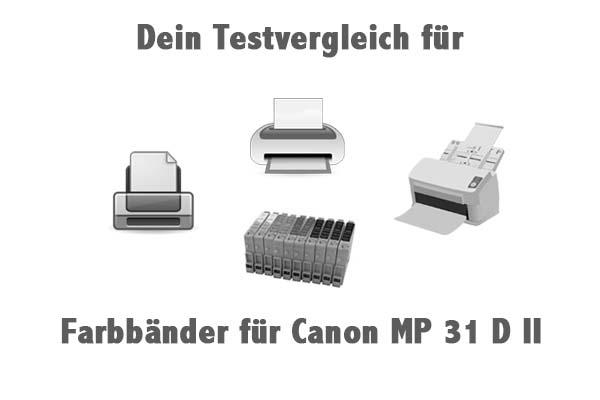 Farbbänder für Canon MP 31 D II