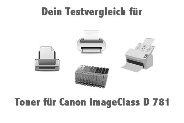 Toner für Canon ImageClass D 781