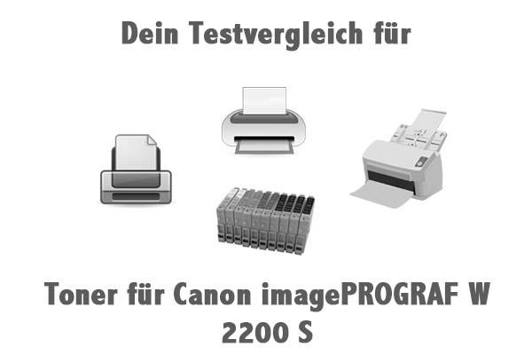 Toner für Canon imagePROGRAF W 2200 S