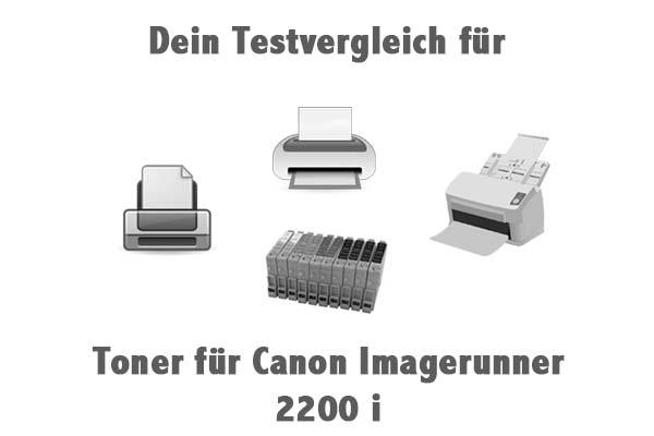 Toner für Canon Imagerunner 2200 i