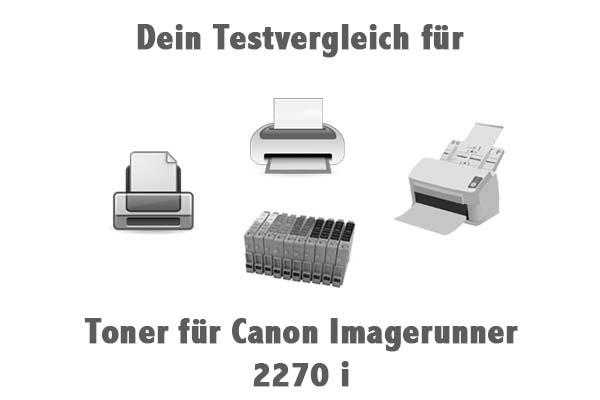 Toner für Canon Imagerunner 2270 i