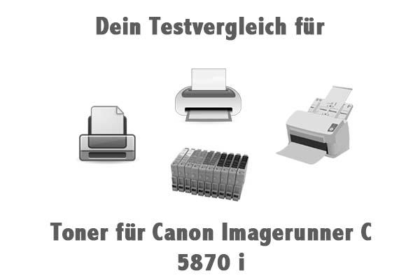 Toner für Canon Imagerunner C 5870 i