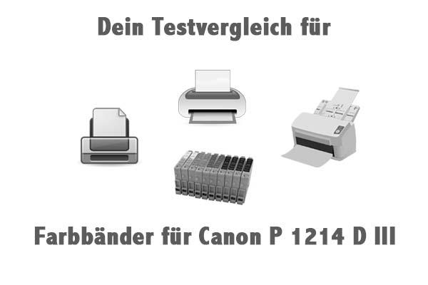 Farbbänder für Canon P 1214 D III