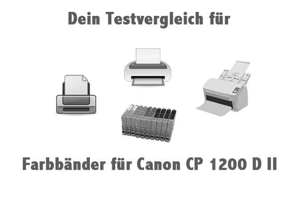Farbbänder für Canon CP 1200 D II