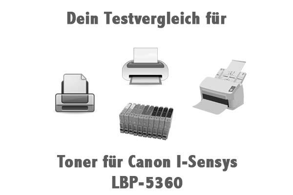 Toner für Canon I-Sensys LBP-5360