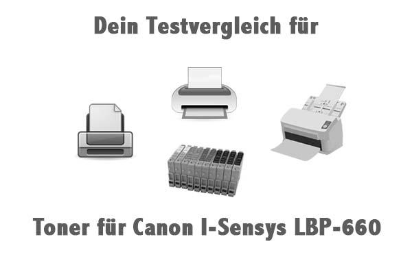 Toner für Canon I-Sensys LBP-660