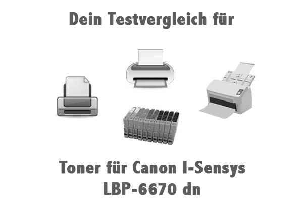 Toner für Canon I-Sensys LBP-6670 dn