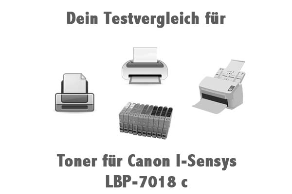Toner für Canon I-Sensys LBP-7018 c