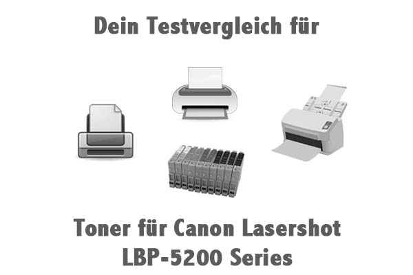 Toner für Canon Lasershot LBP-5200 Series