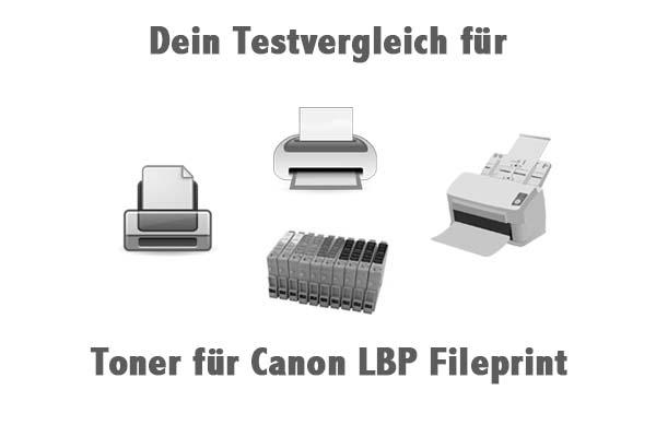 Toner für Canon LBP Fileprint