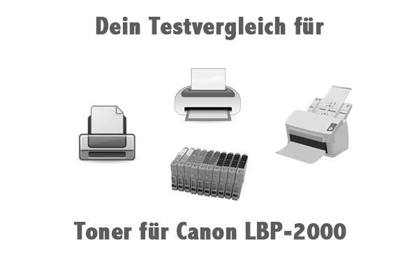 Toner für Canon LBP-2000