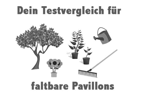 faltbare Pavillons