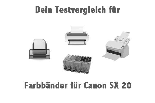 Farbbänder für Canon SX 20
