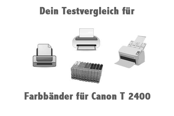 Farbbänder für Canon T 2400