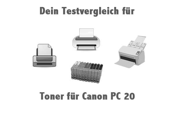 Toner für Canon PC 20