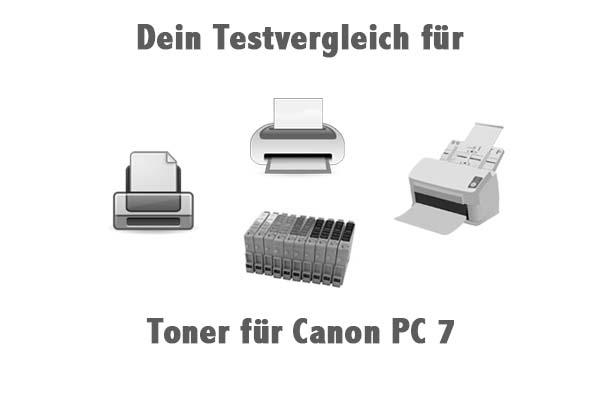 Toner für Canon PC 7