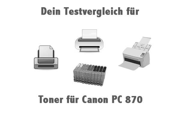 Toner für Canon PC 870