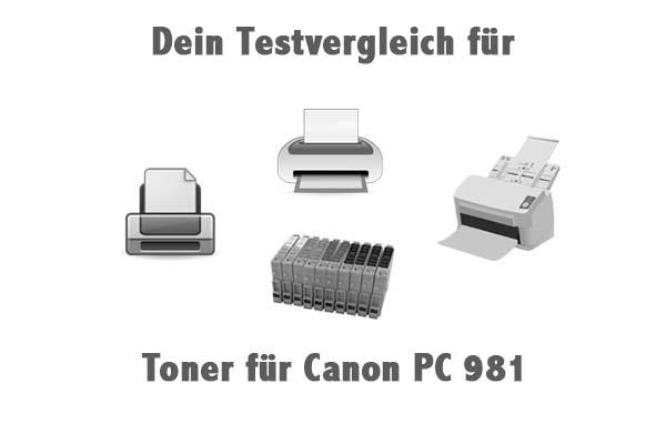 Toner für Canon PC 981
