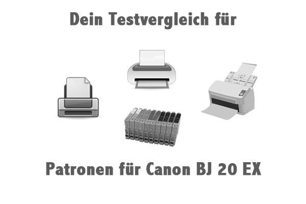 Patronen für Canon BJ 20 EX
