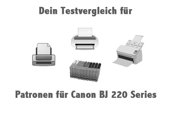 Patronen für Canon BJ 220 Series