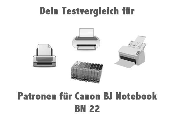 Patronen für Canon BJ Notebook BN 22