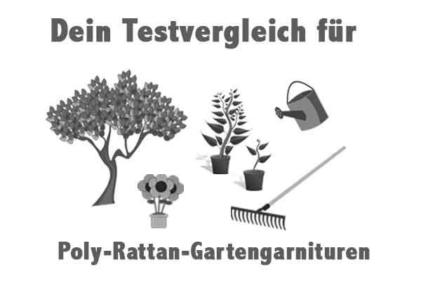 Poly-Rattan-Gartengarnituren