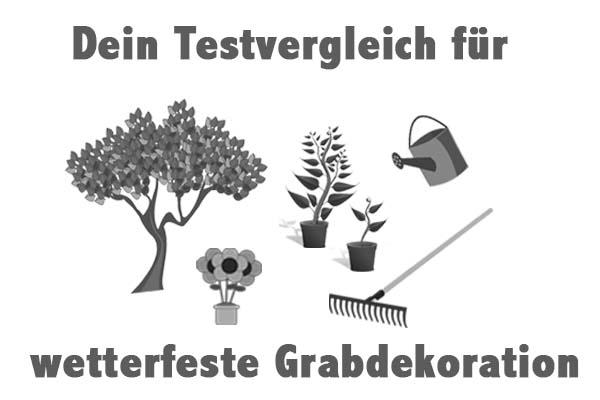 wetterfeste Grabdekoration
