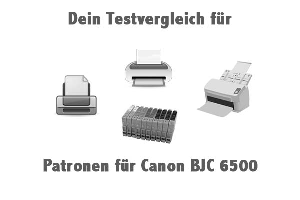 Patronen für Canon BJC 6500