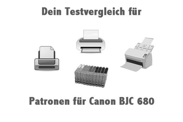 Patronen für Canon BJC 680