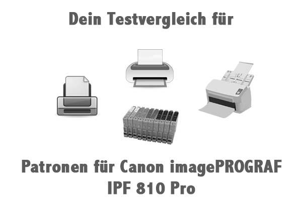 Patronen für Canon imagePROGRAF IPF 810 Pro