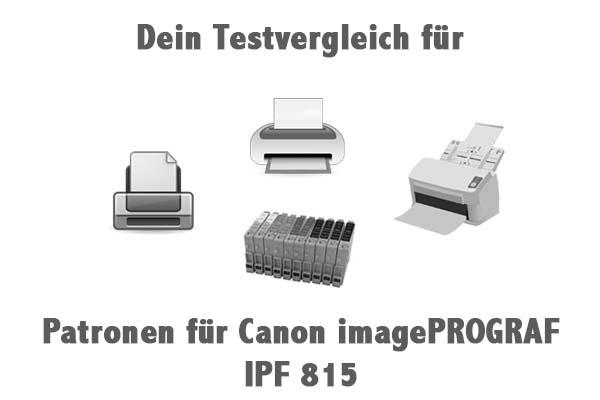 Patronen für Canon imagePROGRAF IPF 815