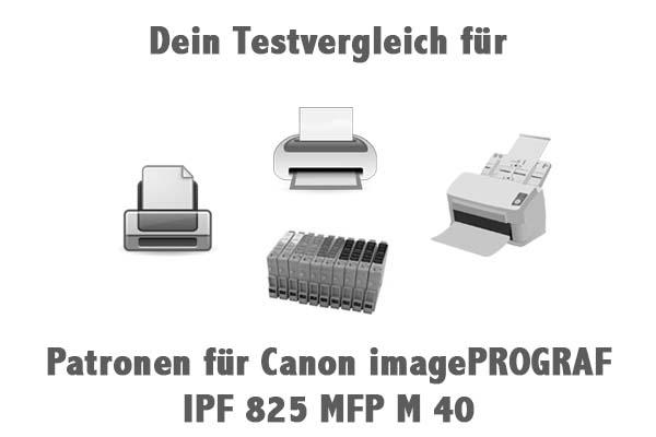Patronen für Canon imagePROGRAF IPF 825 MFP M 40