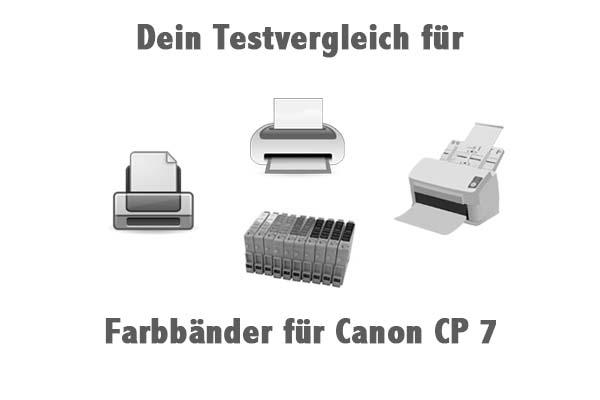 Farbbänder für Canon CP 7