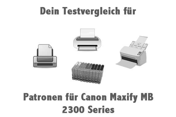 Patronen für Canon Maxify MB 2300 Series