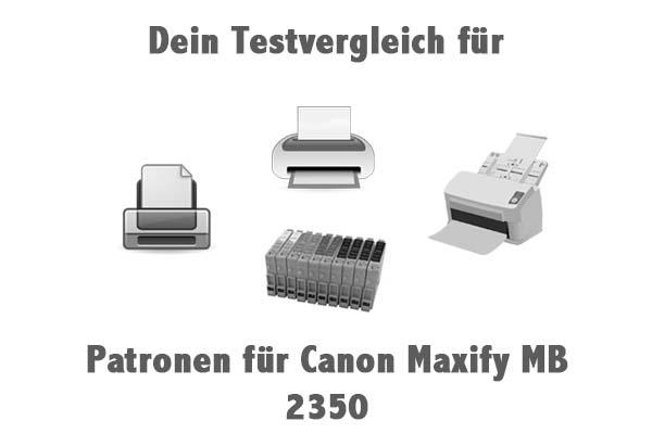Patronen für Canon Maxify MB 2350