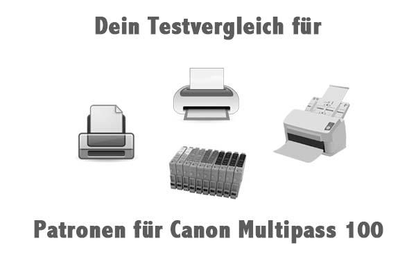 Patronen für Canon Multipass 100