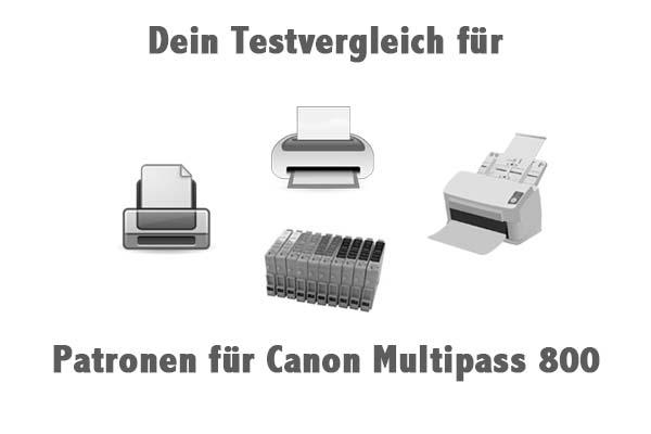 Patronen für Canon Multipass 800