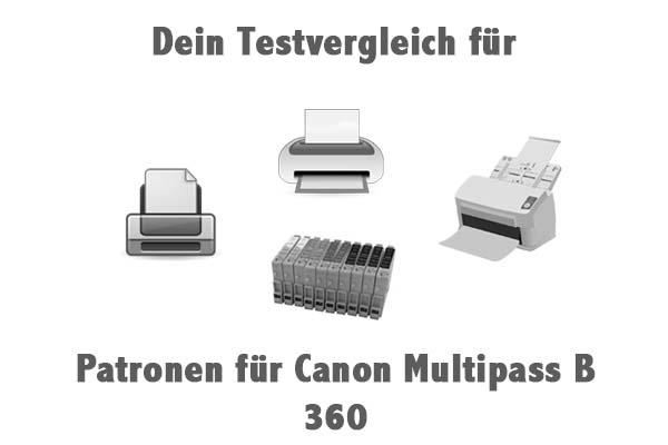Patronen für Canon Multipass B 360