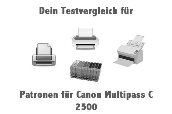 Patronen für Canon Multipass C 2500