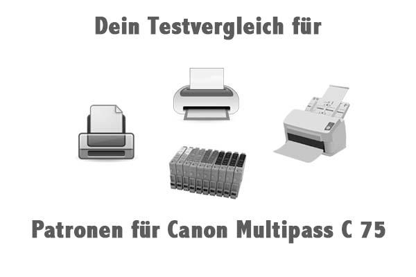 Patronen für Canon Multipass C 75