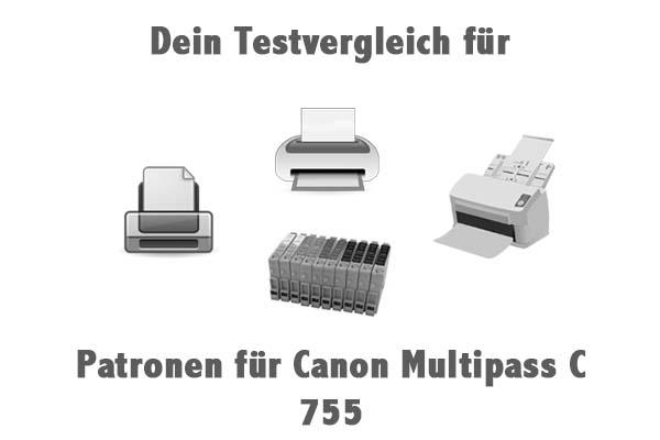 Patronen für Canon Multipass C 755