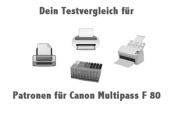 Patronen für Canon Multipass F 80
