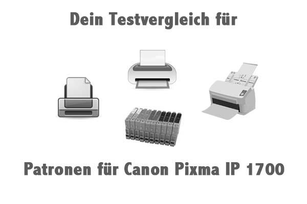 Patronen für Canon Pixma IP 1700