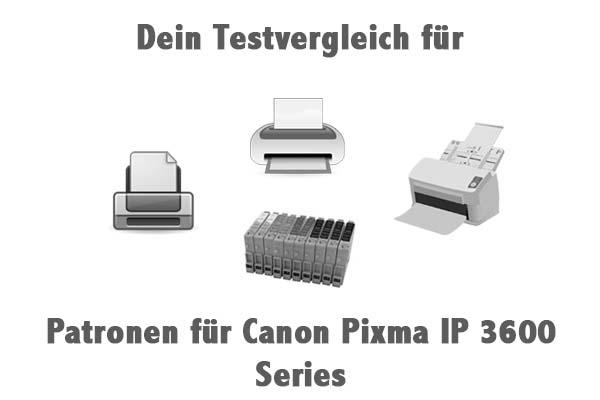 Patronen für Canon Pixma IP 3600 Series