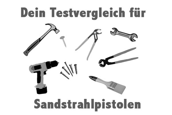 Sandstrahlpistolen
