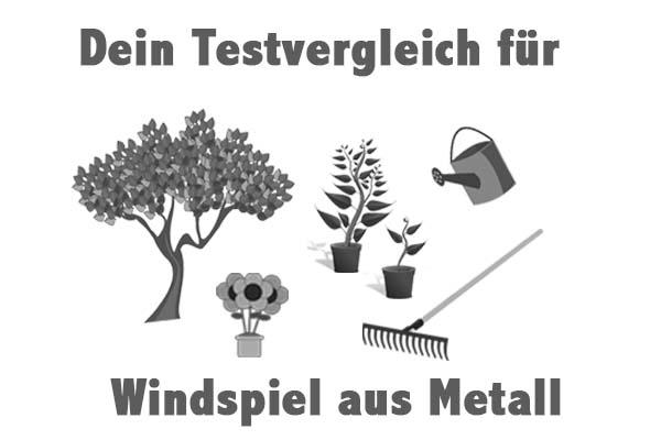 Windspiel aus Metall