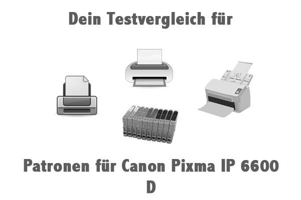 Patronen für Canon Pixma IP 6600 D