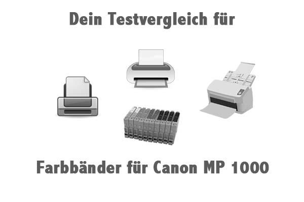 Farbbänder für Canon MP 1000